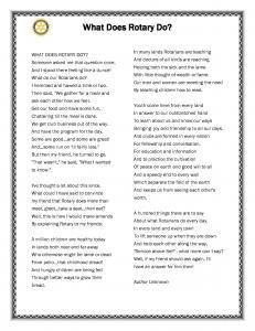 rotary poem